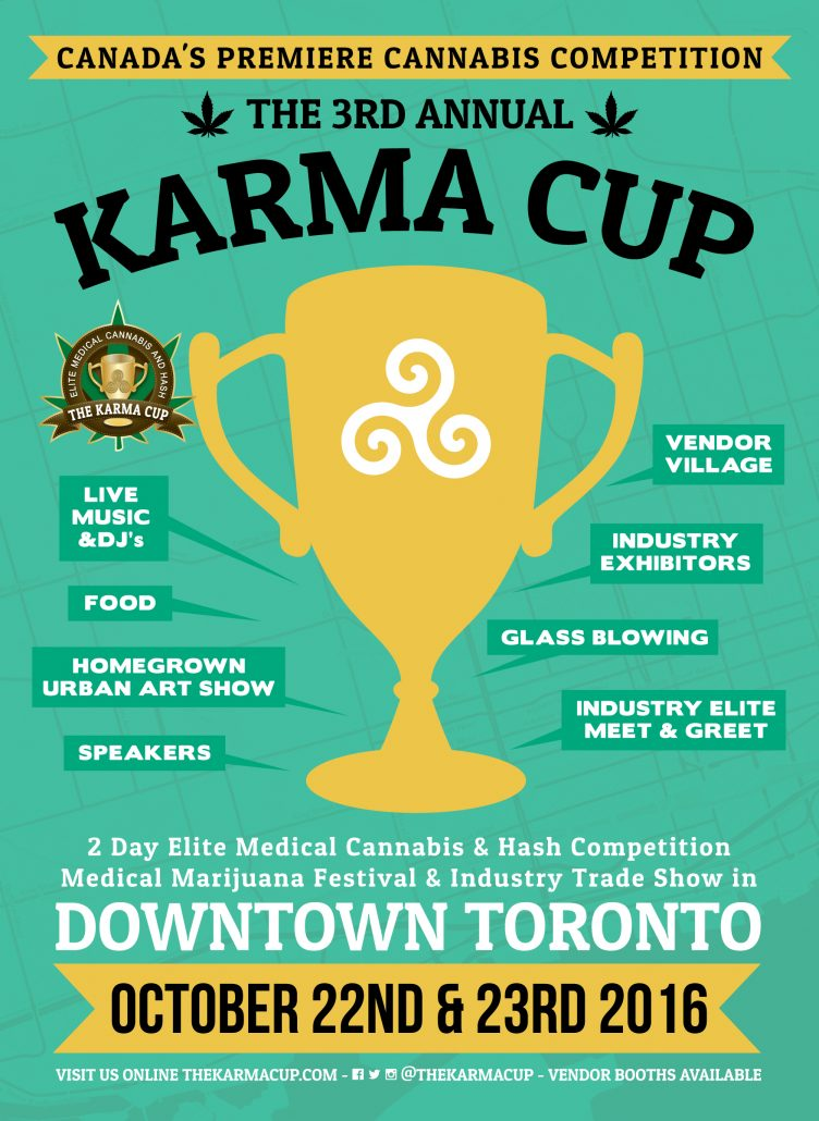 The Karma Cup Flyer